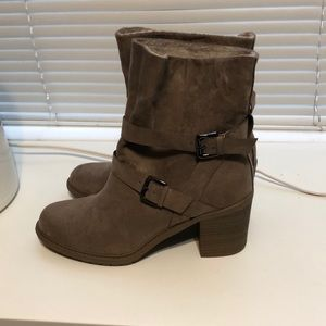 Shoes - Target Beige Boots